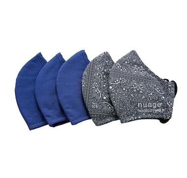 Nuage Reusable Kids Masks 5-Pack