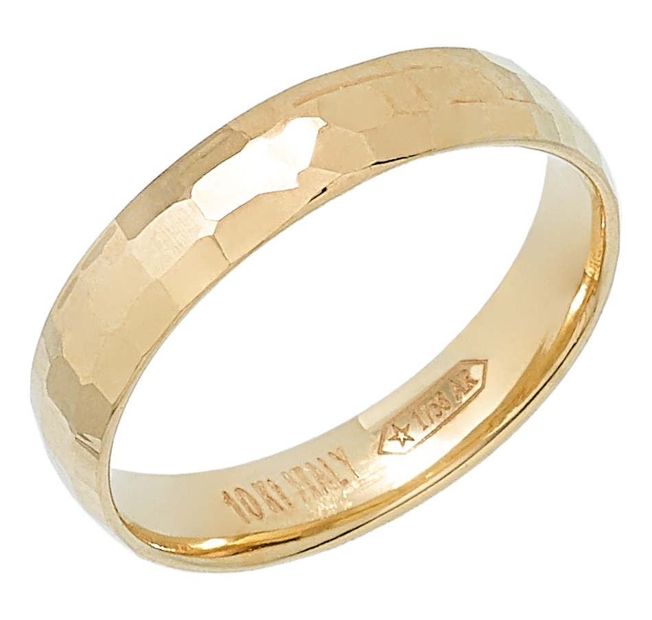 Image 446716_YGL.jpg , Product 446-716 / Price $79.99 , International Gold 10K Yellow Gold Mille Specchi Ring from International Gold on TSC.ca's Jewellery department
