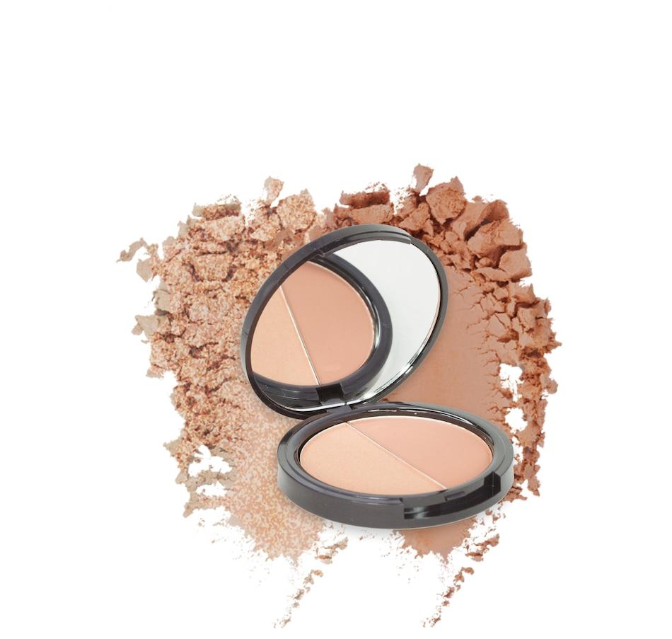 Image 447540_POSH.jpg , Product 447-540 / Price $31.00 , Manna Kadar Long Wear Powder Split Pan Duo from Manna Kadar on TSC.ca's Beauty department