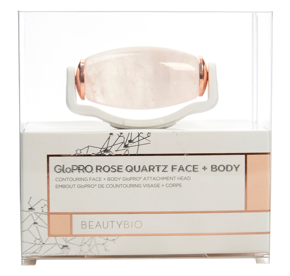 Image 447560.jpg , Product 447-560 / Price $56.00 , BeautyBio GloPRO Rose Quartz Face + Body Roller GloPRO Attachment from BEAUTYBIO on TSC.ca's Beauty department