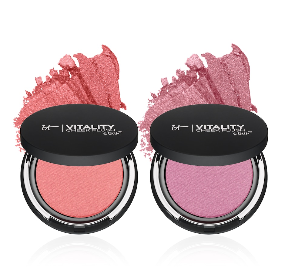 Image 447762_PMAVE.jpg , Product 447-762 / Price $39.50 , IT Cosmetics Vitality Cheek Flush Stain Blush Duo from It Cosmetics on TSC.ca's Beauty department
