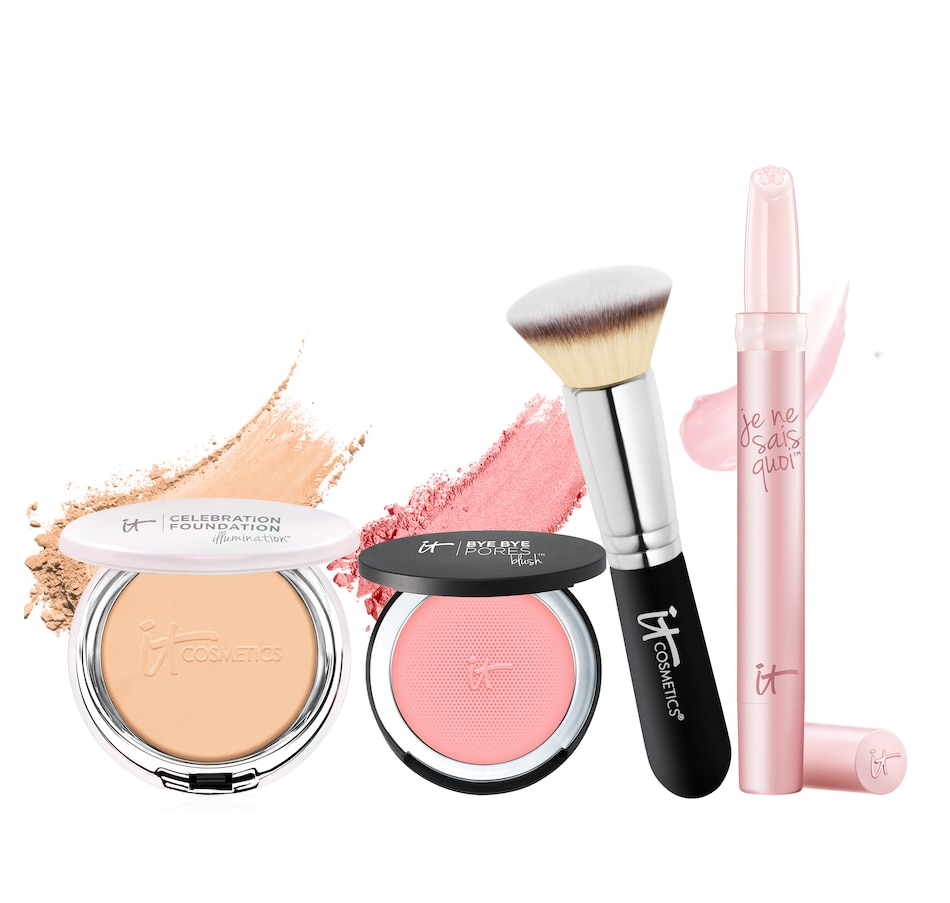 Image 447775_M.jpg , Product 447-775 / Price $109.00 , IT Cosmetics It's Your New Year Most Beautiful You 4-Piece Collection from It Cosmetics on TSC.ca's Beauty department