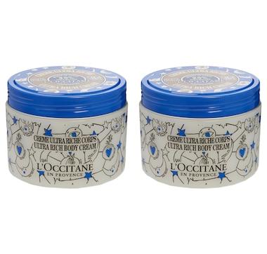 L'Occitane Limited Edition Ultra Rich Body Cream Duo