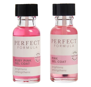 Perfect Formula Pink & Ruby Pink Gel Coat BOGO