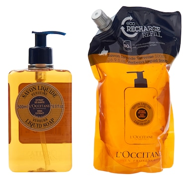 L'Occitane Shea Liquid Soap & Refill Duo
