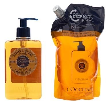 L'Occitane Shea Liquid Soap & Refill Duo