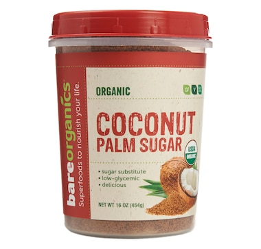 Bare Organics Raw Organic Coconut Palm Sugar