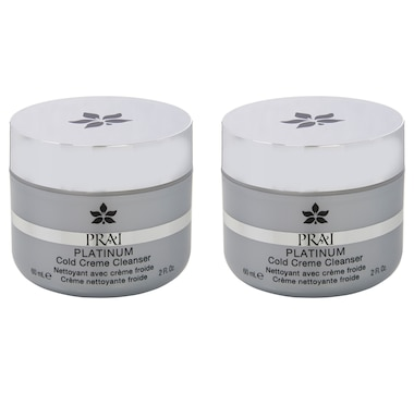 PRAI Beauty Platinum Cold Creme Cleanser Duo