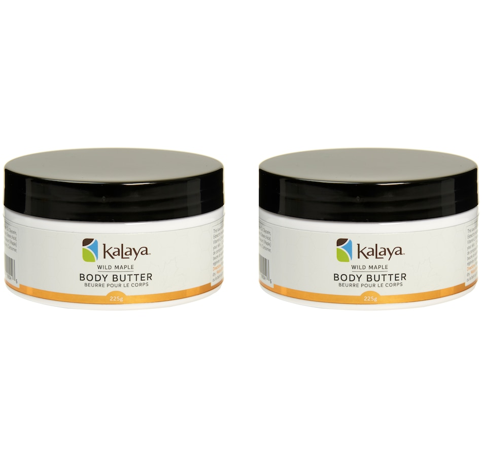Image 448731.jpg , Product 448-731 / Price $29.00 , Kalaya Supersize Wild Maple Body Butter BOGO from Kalaya on TSC.ca's Beauty department