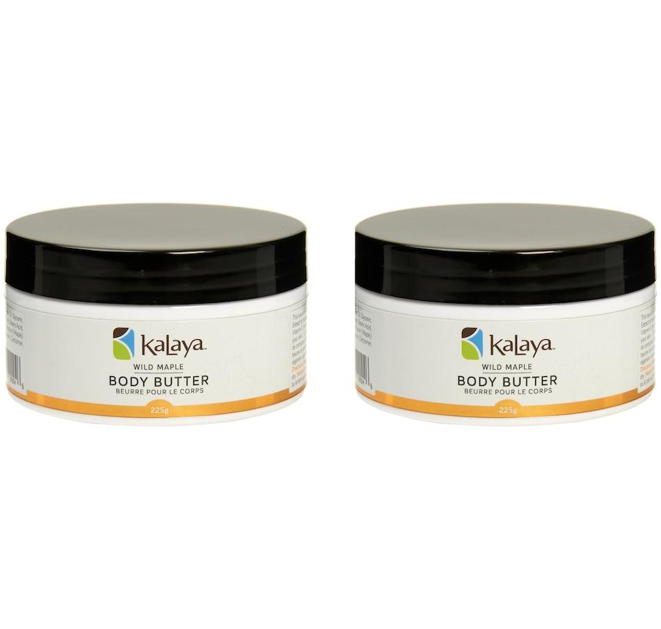 Image 448731.jpg , Product 448-731 / Price $29.00 , Kalaya Supersize Wild Maple Body Butter BOGO from Kalaya on TSC.ca's Beauty department