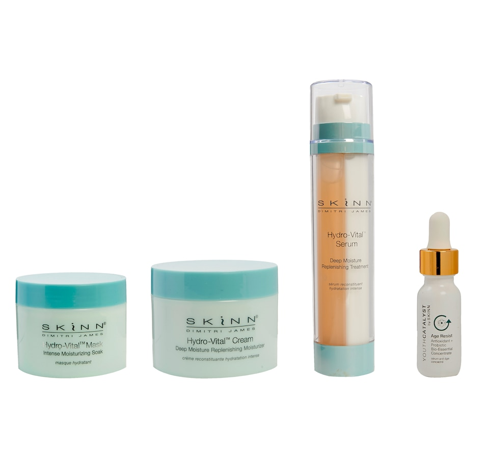 Image 448773.jpg , Product 448-773 / Price $150.00 , SKINN Hydro-Vital Full Routine 4-Piece Set from SKINN on TSC.ca's Beauty department