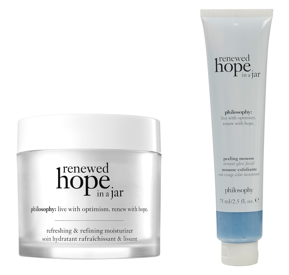Image 448905.jpg , Product 448-905 / Price $101.00 , philosophy renewed hope in a jar duo from philosophy on TSC.ca's Beauty department