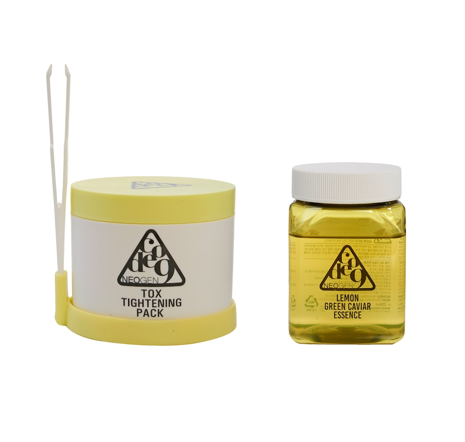 Image 449040.jpg , Product 449-040 / Price $60.00 , The Beauty Spy Neogen Lemon Green Caviar Essence & Toxic Tightening Pack Kit from The Beauty Spy on TSC.ca's Beauty department