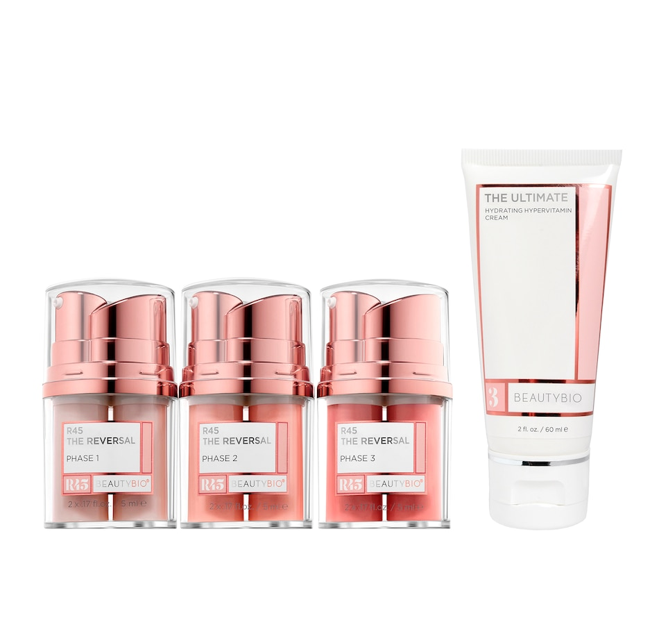 Image 449219.jpg , Product 449-219 / Price $99.95 - $200.00 , BeautyBio R45 The Reversal Retinol System + The Ultimate Cream from BEAUTYBIO on TSC.ca's Beauty department