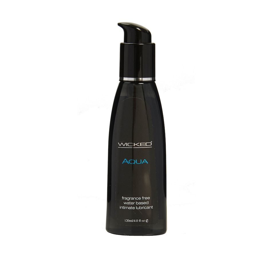 Image 449343.jpg , Product 449-343 / Price $14.99 - $18.99 , Wicked Aqua Fragrance Free Water Based Intimate Lubricant from WICKED  on TSC.ca's Sexual Wellness department