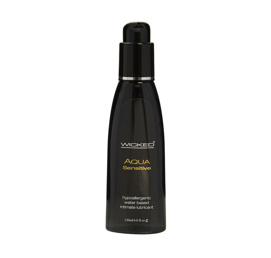 Image 449345.jpg , Product 449-345 / Price $21.99 - $29.99 , Wicked Aqua Sensitive Hypoallergenic Water Based Intimate Lubricant from WICKED  on TSC.ca's Sexual Wellness department