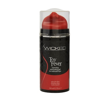 Wicked Toy Fever Warming Lubricating Gel For Intimate Toys