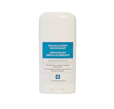 Consonant Dealkalizing 100% Natural Deodorant