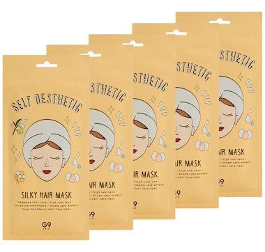 The Beauty Spy G9SKIN Self Aesthetic Silky Hair Mask 5-Piece Set