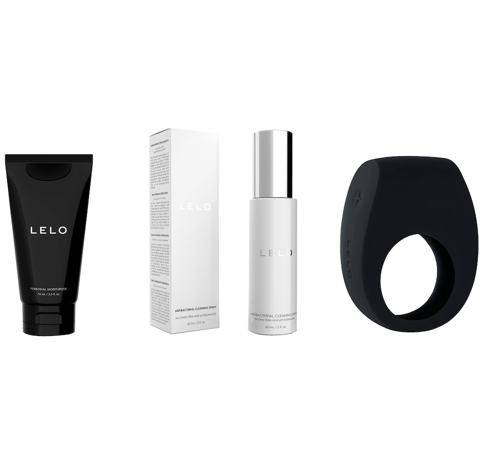 Image 449573_BLK.jpg , Product 449-573 / Price $179.00 , LELO TOR 2 Starter Kit from LELO on TSC.ca's Sexual Wellness department