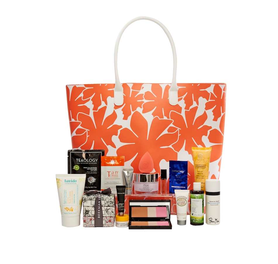 Image 449638.jpg , Product 449-638 / Price $39.99 , Summer Beauty Tote 2019  on TSC.ca's Beauty department