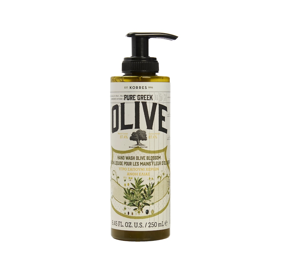 Image 449642.jpg , Product 449-642 / Price $26.00 , KORRES Pure Greek Olive Oil & Blossom Liquid Hand Wash from KORRES Natural Products on TSC.ca's Beauty department