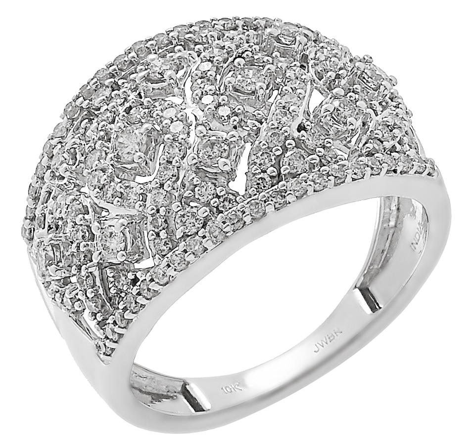 Image 450517.jpg , Product 450-517 / Price $1,079.99 , 10K White Gold 1.00ctw Diamond Ring from Diamond Show on TSC.ca's Jewellery department