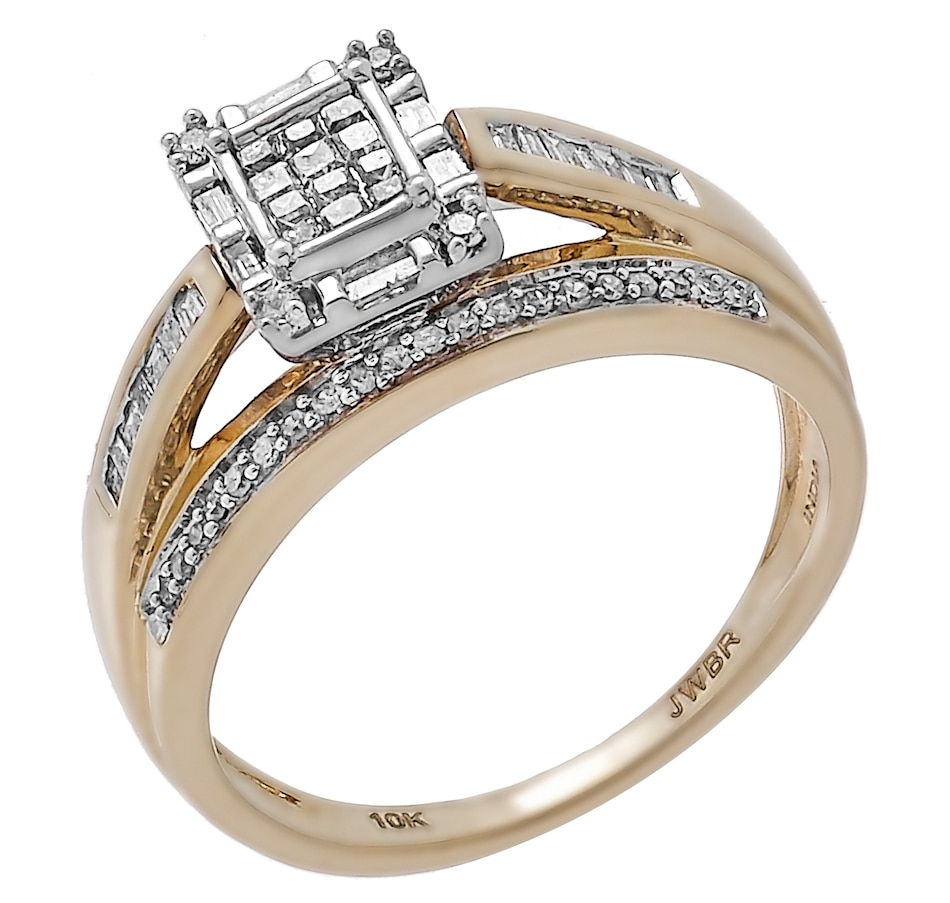 Image 450518.jpg , Product 450-518 / Price $699.99 , 10K Yellow Gold 0.50ctw Diamond Ring from Diamond Show on TSC.ca's Jewellery department