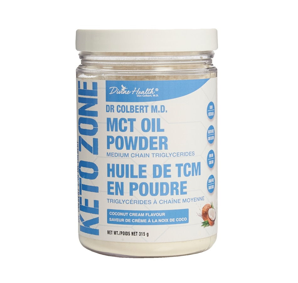 Image 450557_CTA.jpg , Product 450-557 / Price $39.99 , Dr. Colbert Keto Zone MCT Oil Powder from Keto Zone - Dr. Colbert on TSC.ca's Health & Fitness department