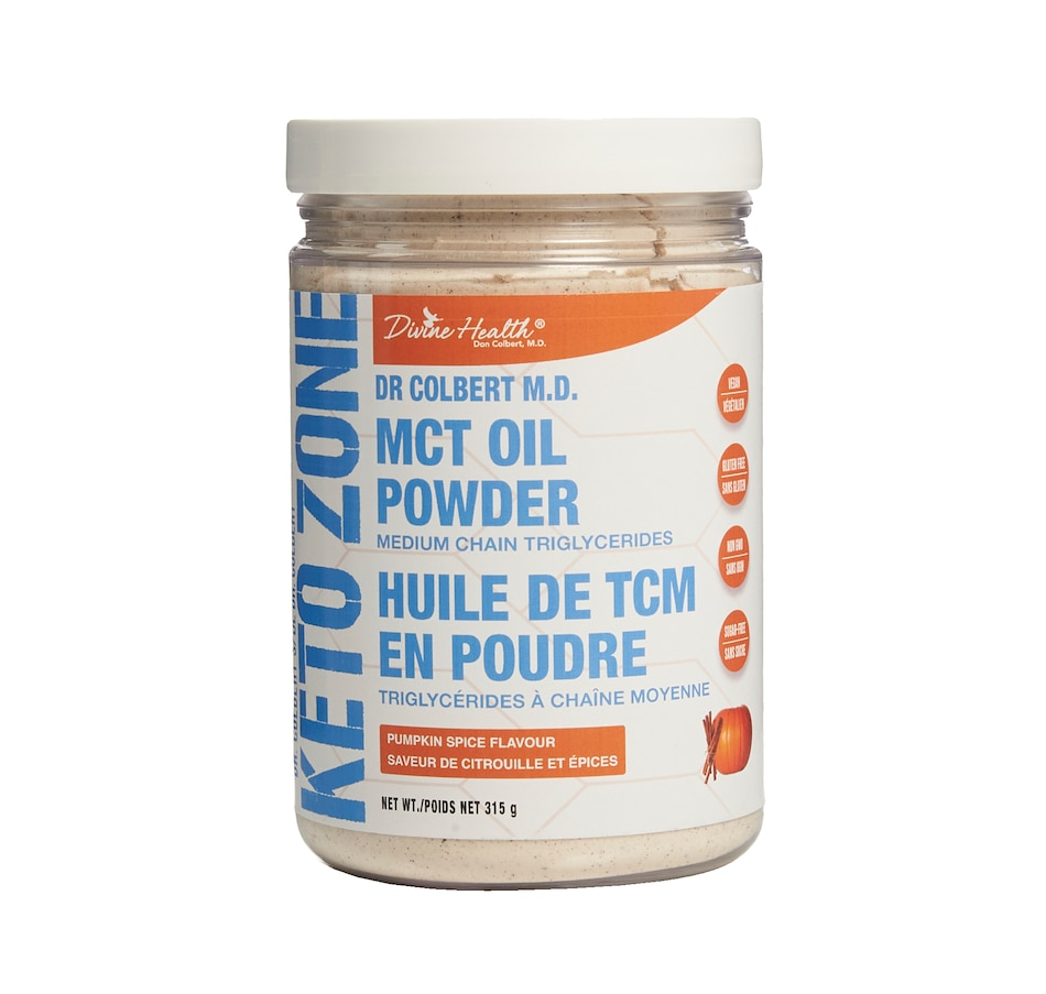 Image 450557_PUSP.jpg , Product 450-557 / Price $29.99 , Dr. Colbert Keto Zone MCT Oil Powder from Keto Zone - Dr. Colbert on TSC.ca's Health & Fitness department