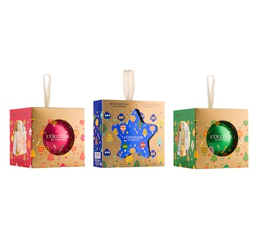 L'Occitane Festive Ornament Trio