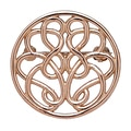Hope-Knot 14K Gold Hand Crafted Hope-Knot Pin