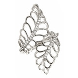 Toscana Sterling Silver Diamonelle Ring