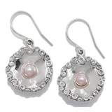 Hagit Sterling Silver Cultured Freshwater Pearl Drop Earring