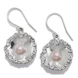 Hagit Sterling Silver Cultured Freshwater Pearl Drop Earring
