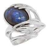 Hagit Sterling Silver Labradorite Cabochon Ring