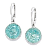 Hagit Sterling Silver Glass Bead Earrings