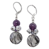 Rita Tesolin Heart Of Amethyst Earrings