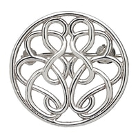 Hope-Knot Sterling Silver Hand Crafted Pin