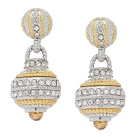 Emma Skye Ball Stud Drop Earrings