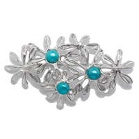 Hagit Sterling Silver Cultured Freshwater Pearl Brooch