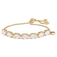 Caroline Creba for Diamonelle Sterling Silver Statement Friendship Bracelet