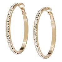 Shay Lowe Jewellery Classic Glam Statement Hoop Earrings