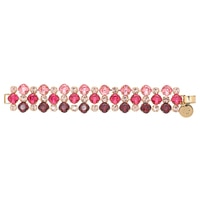 Rebekah Price Triple Row Cushion Crystal Bracelet