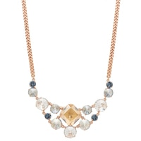 Rebekah Price Multi Size Crystal Bib Necklace