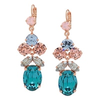 Rebekah Price Multi Shape Drop Earrings