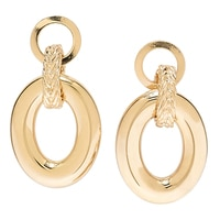 Bronzoro Italia Bronzoro Door Knocker Earrings