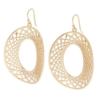 Jewellery of The Grand Bazaar Open Circle Drop Earrings