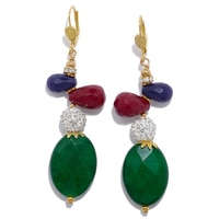 Rita Tesolin Casablanca Drop Earrings