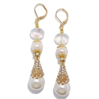 Rita Tesolin Countess Drop Earrings